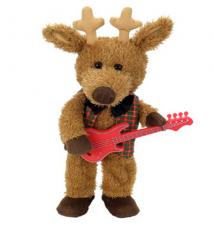Blitzen Reindeer *Jingle Bells* Chantilly Lane Bear #188