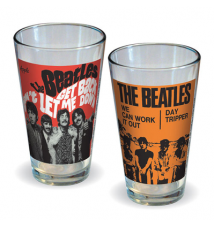 Beatles Get Back and We Can Work It Out Pint Glass 2-Pack
