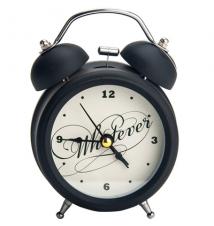*Whatever* Retro Double Bell Alarm Clock