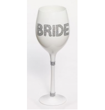 *Bride* White Wine Glass