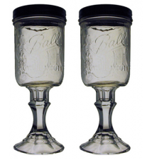 2 PACK  -  Redneck Hill Top Mixer Wine Glass 16oz