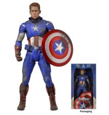 Avengers Battle Damaged Captain America 1:4 Scale Figure