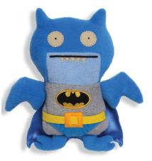 DC Comics Blue Batman Uglydoll Ice Bat Plush