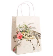 *Love Zebra* Gift Bag