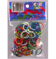 Genuine Choons Rainbow Looms USA Theme #163 300 Pcs Refill Bands