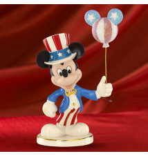 Disney*s Americana Mickey Figurine  By Lenox #106