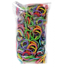 Genuine Choons Rainbow Looms  Mix Colors #033 600 Pcs Refill Bands