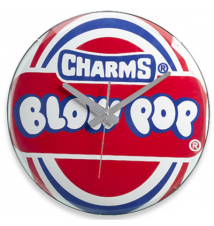 Charms Blow Pop 15* Clock