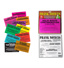 Big Mouth Toys Prank Notices- 10pk Assortment