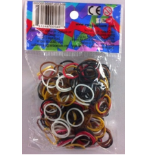 Genuine Choons  Rainbow Looms Chocolate Theme #165 300 Pcs Refill Band