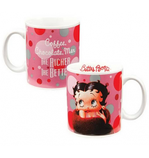 Betty Boop *The Richer The Better* Ceramic Mug