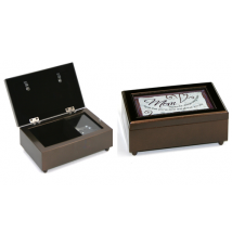 Carson Home Accents 17461 Mother Rectangle Music Box