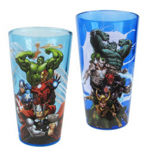 Avengers and Villains Pint Glass 2-Pack Set