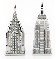 Empire State & Chrysler Building Salt & Pepper Shakers #179