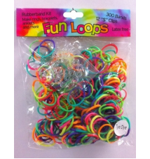 Fun Loops Tye Dye Bands #133- Neon