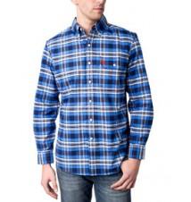 Slim Fit Medium Plaid Oxford Shirt