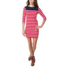 Stripe Boater Dress