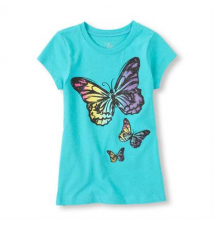 bold butterflies graphic tee Children's Place