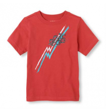race car graphic tee Children's Place