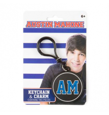 Austin Mahone Keychain & Charm Claires