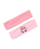 Pretty Pink Owl Headwraps Set ..