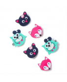 Cute Critters Felt Hair Clips ..