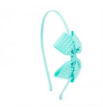Crystal Studded Bow Headband Claires