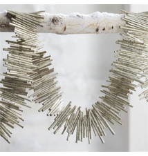 Glitter Twig Garland Crate and Barrel