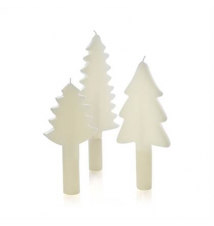 3-Piece Tree Taper Candle Set Crate and Barrel