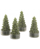 Tree Candles Set of Four Crate..