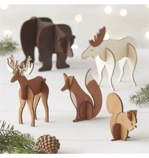 Laser-Cut Animals Crate and Barrel