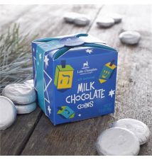 Milk Chocolate Coins Crate and Barrel