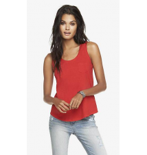 COTTON POCKET TANK Express