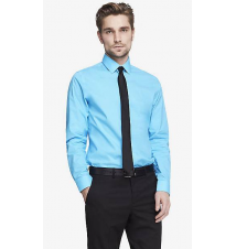 MODERN FIT 1MX STRETCH COTTON SHIRT Express