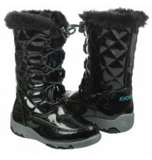 Khombu Kids' Darcie T Toddler Black Famous Footwear