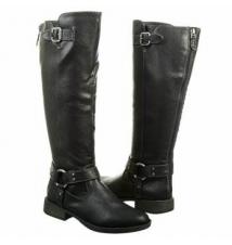 Dr. Scholl's Women's Isabel Black Famous Footwear
