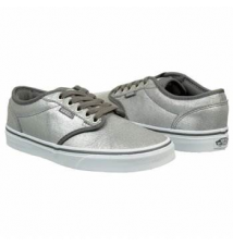Vans Women's Atwood Grey/White Famous Footwear