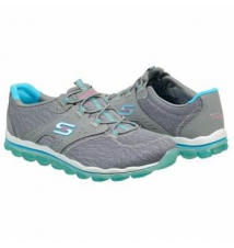 Skechers Women's Skech Air Lite Greyblue Famous Footwear