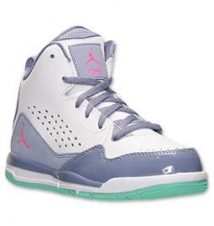 Girls' Preschool Jordan SC-3 Basketball Shoes Finish Line