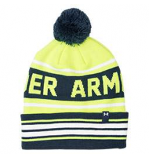Men's Under Armour Retro Pom Beanie Hat Finish Line
