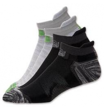Men's Finish Line Running Select Low Cut 2-Pack Socks Finish Line
