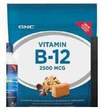 GNC Energy Formula VITAMIN B-12 2500 MCG GNC