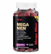GNC MEGA MEN® Gummy Multivitamins GNC