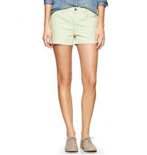 1969 stud raw-edge maddie denim shorts Gap