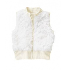 Furry Sweater Vest Gymboree