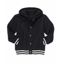Hooded Varsity Jacket Gymboree