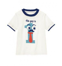 1st Birthday Tee Gymboree