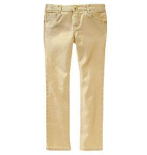 Gold Skinny Jeans Gymboree