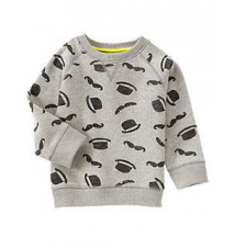 Dapper Pattern Pullover Gymboree