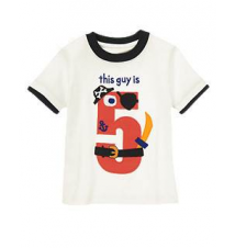 5th Birthday Tee Gymboree